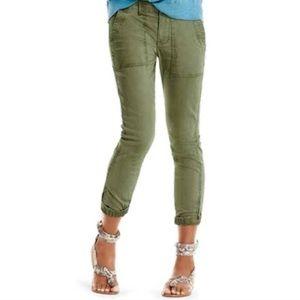 CAbi #5076 Green Traveler Brushed Cotton Jogger 8